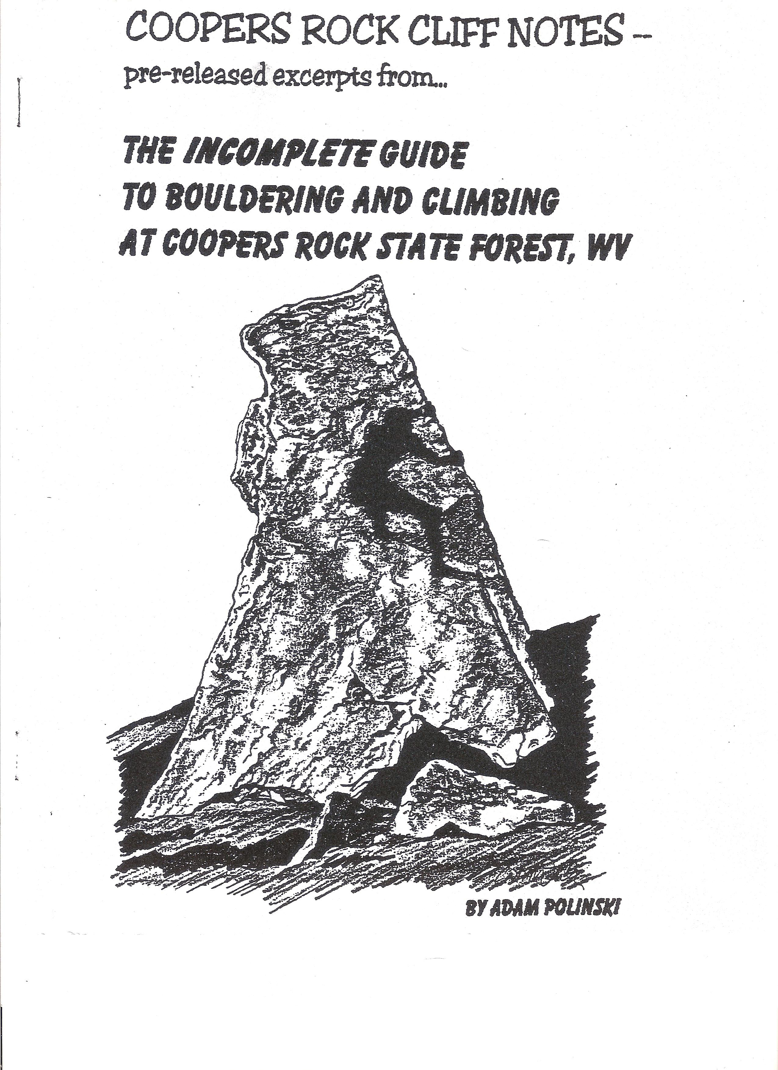The Polinski Guides « Climbing Cooper's